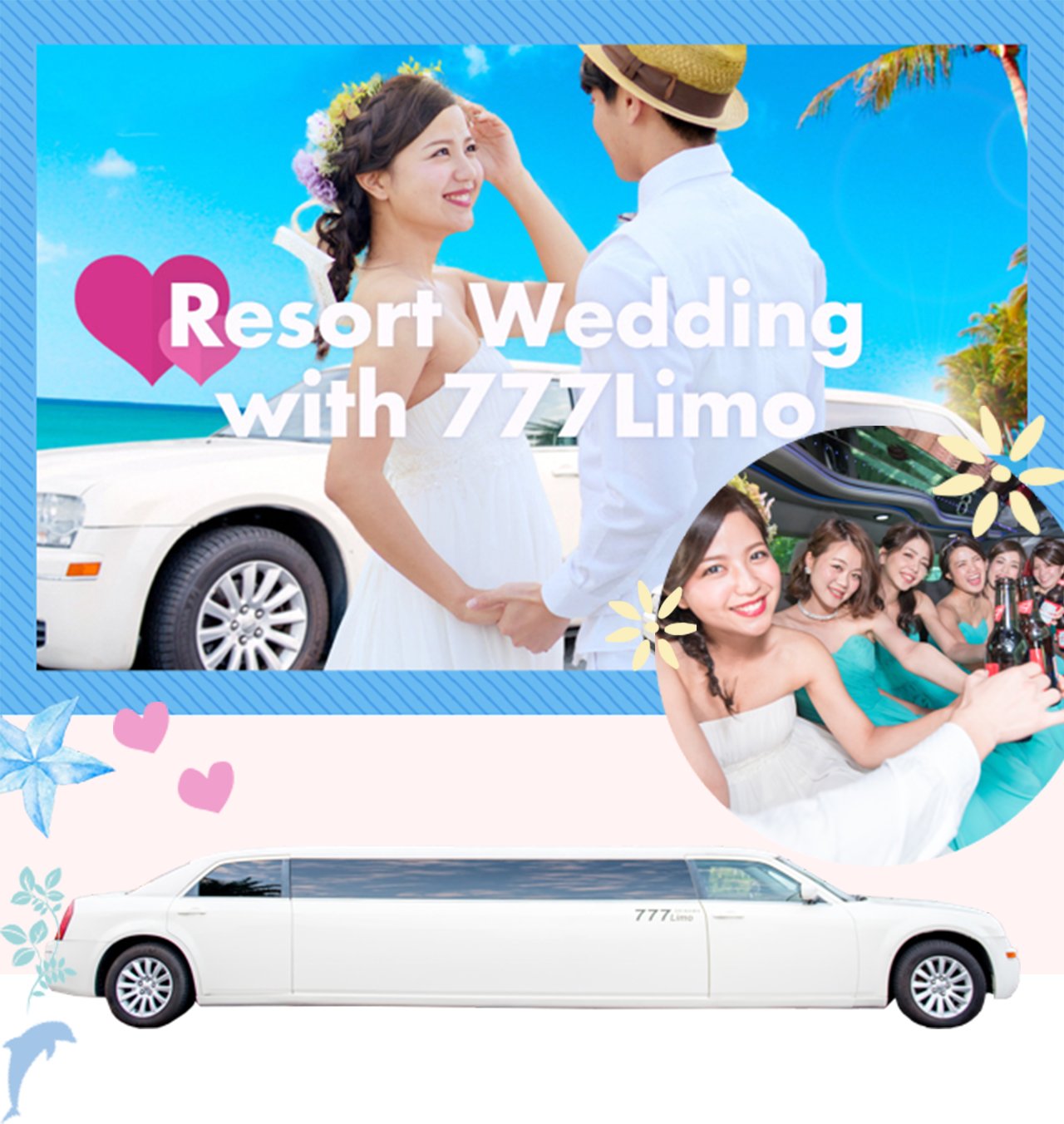 Resort Wedding with 777Limo